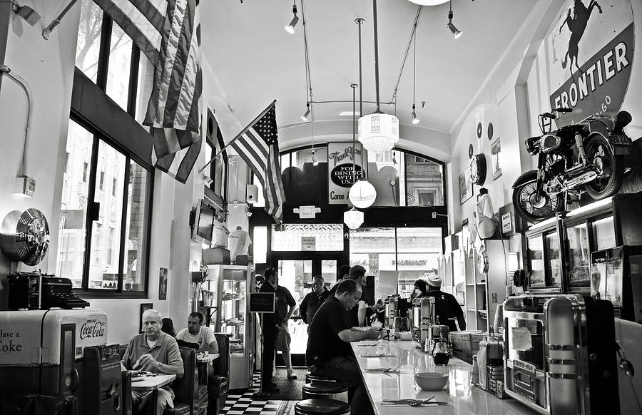 Loris Diner San Francisco BW by RicardMN Photography