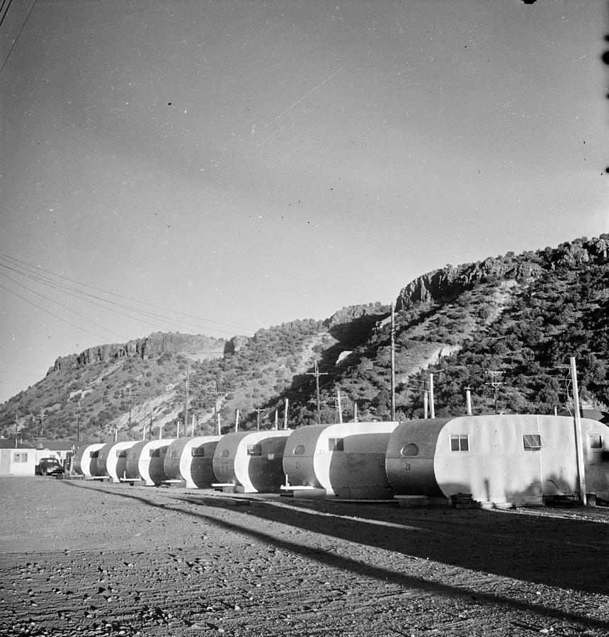 Los Alamos Caravans Photograph by Doreen Spooner