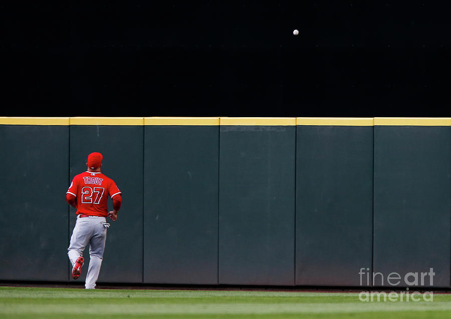 Los Angeles Angels Of Anaheim  V Photograph by Lindsey Wasson