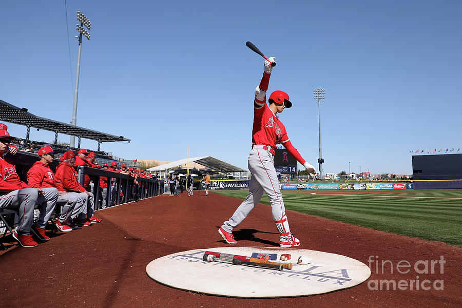 Los Angeles Angels Of Anaheim V San Photograph by Christian Petersen