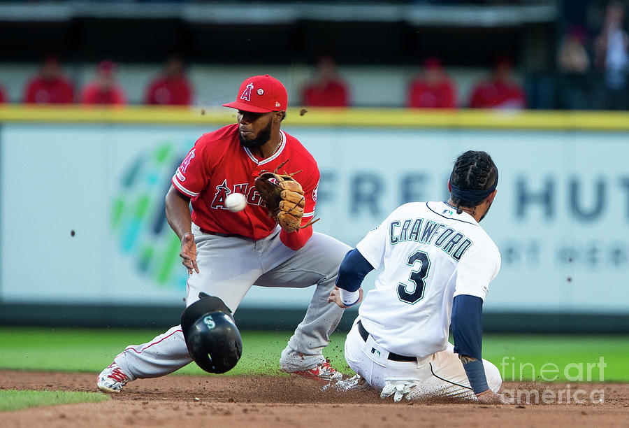 Los Angeles Angels Of Anaheim V Seattle Photograph by Lindsey Wasson