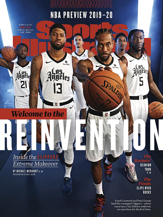 Los Angeles Clippers, 2019-20 Nba Basketball Preview Sports Illustrated Cover Photograph by Sports Illustrated