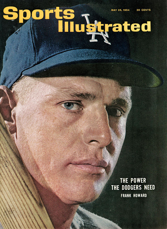 Los Angeles Dodgers Frank Howard Sports Illustrated Cover Photograph by Sports Illustrated