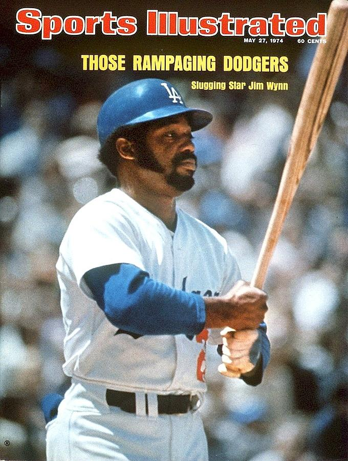 Los Angeles Dodgers Jimmy Wynn Sports Illustrated Cover Photograph by Sports Illustrated