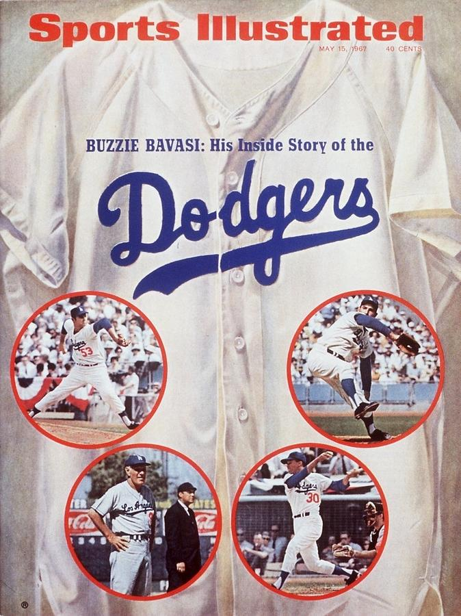 Los Angeles Dodgers Sports Illustrated Cover Photograph by Sports Illustrated