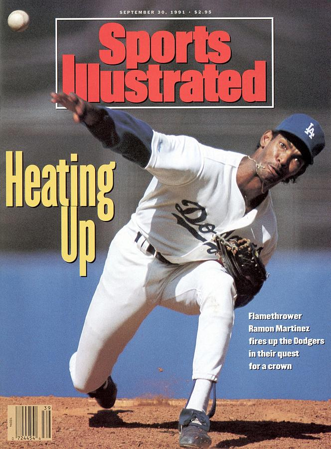 Los Angeles Dodgers Ramon Martinez... Sports Illustrated Cover Photograph by Sports Illustrated