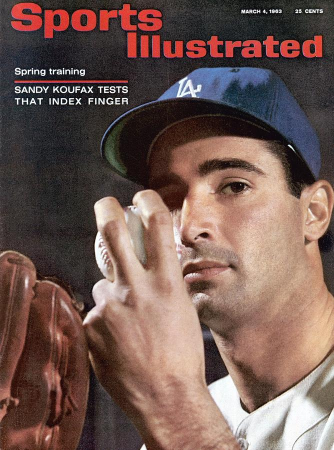 Los Angeles Dodgers Sandy Koufax Sports Illustrated Cover Photograph by Sports Illustrated