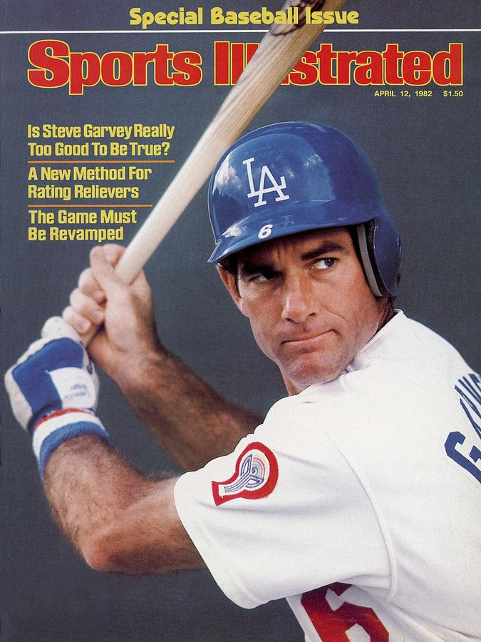 Los Angeles Dodgers Steve Garvey Sports Illustrated Cover Photograph by Sports Illustrated