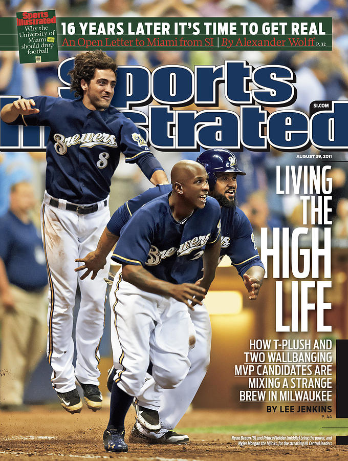Los Angeles Dodgers V Milwaukee Brewers Sports Illustrated Cover Photograph by Sports Illustrated
