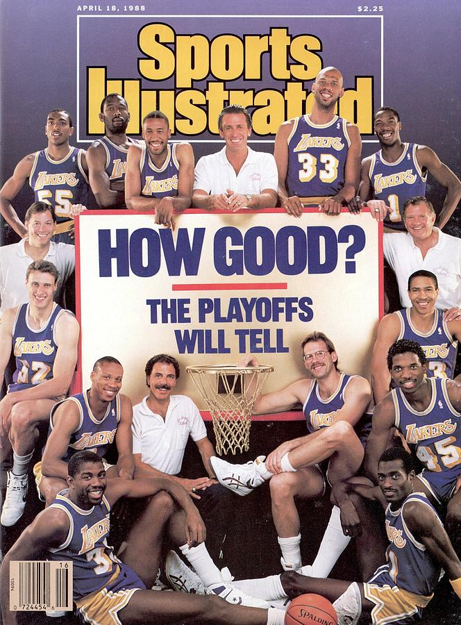 Los Angeles Lakers Sports Illustrated Cover Photograph by Sports Illustrated