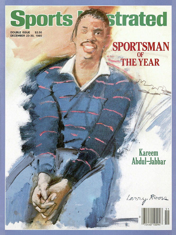 Los Angeles Lakers Kareem Abdul-jabbar, 1985 Sportsman Of Sports Illustrated Cover Photograph by Sports Illustrated
