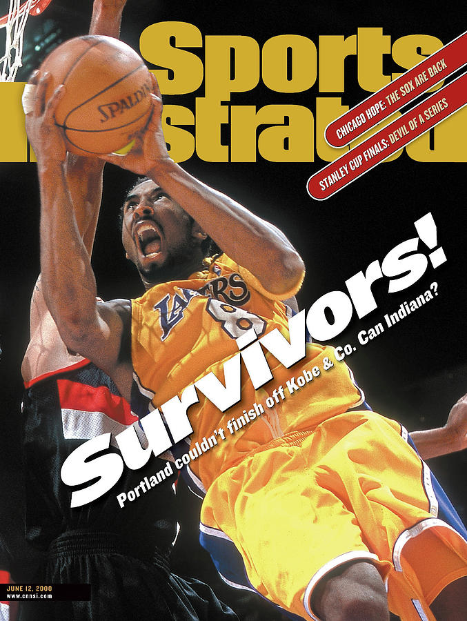 Los Angeles Lakers Kobe Bryant, 2000 Nba Western Conference Sports Illustrated Cover Photograph by Sports Illustrated