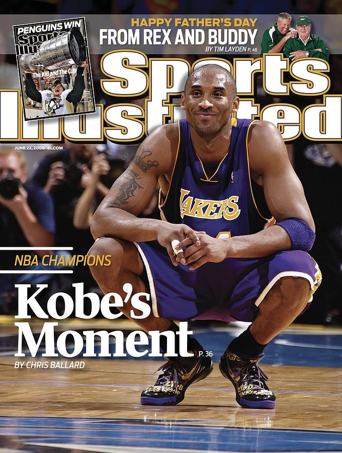 Los Angeles Lakers Kobe Bryant, 2009 Nba Finals Sports Illustrated Cover Photograph by Sports Illustrated