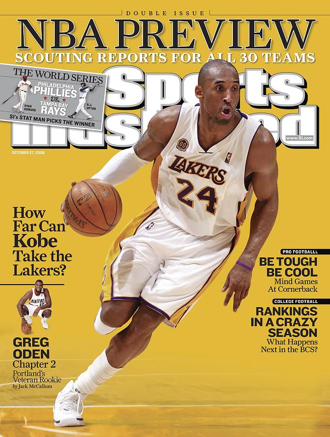 Los Angeles Lakers Kobe Bryant... Sports Illustrated Cover Photograph by Sports Illustrated