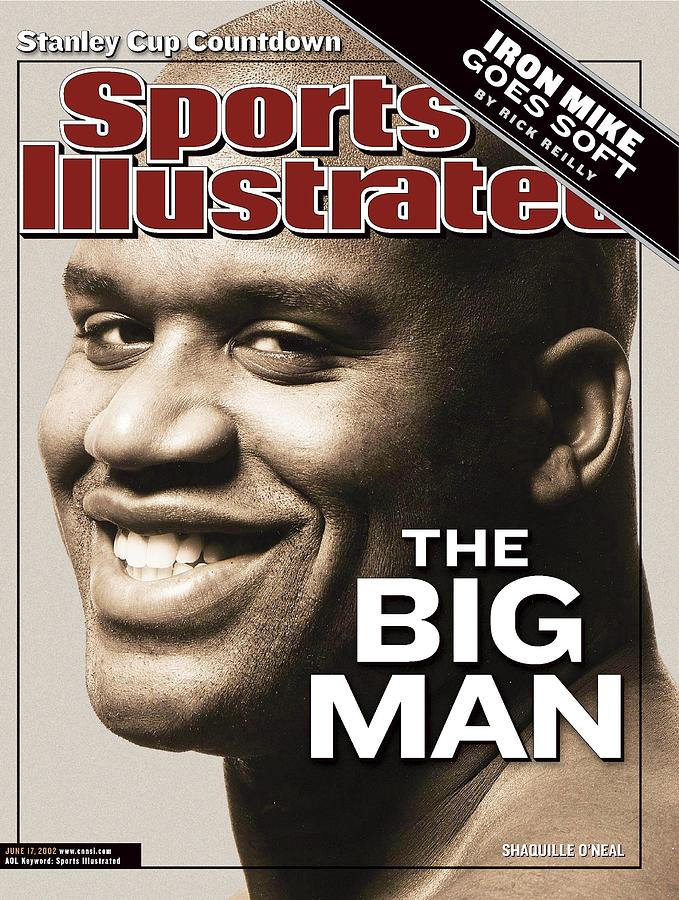 Los Angeles Lakers Shaquille Oneal Sports Illustrated Cover Photograph by Sports Illustrated
