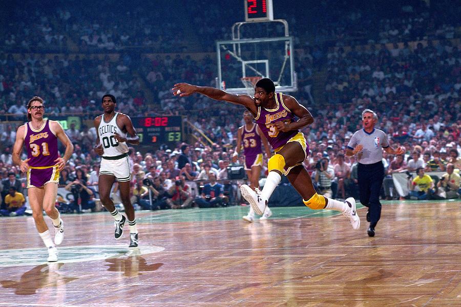 Los Angeles Lakers V Boston Celtics Photograph by Dick Raphael