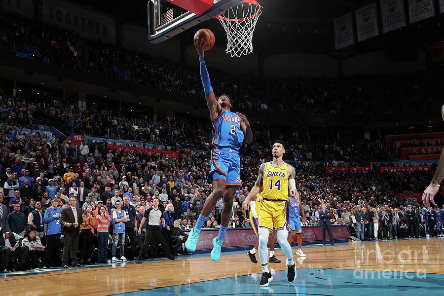 Los Angeles Lakers V Oklahoma City Photograph by Joe Murphy