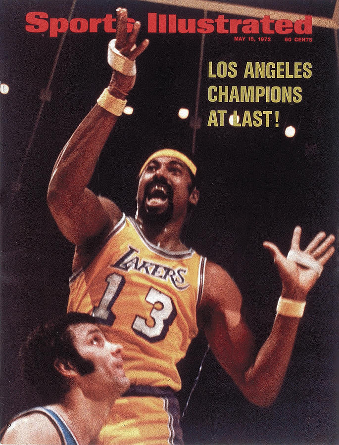 Los Angeles Lakers Wilt Chamberlain, 1972 Nba Finals Sports Illustrated Cover Photograph by Sports Illustrated