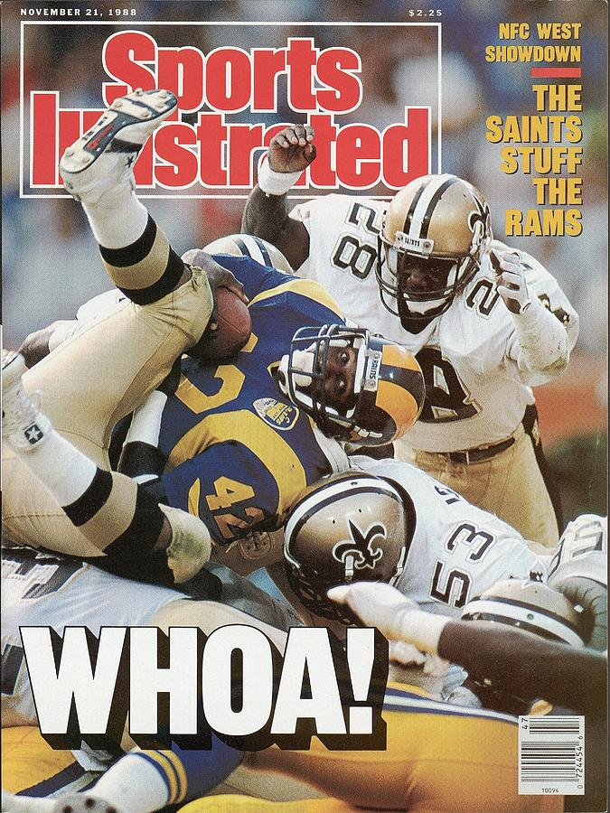 Los Angeles Rams D.j. Dozier... Sports Illustrated Cover Photograph by Sports Illustrated