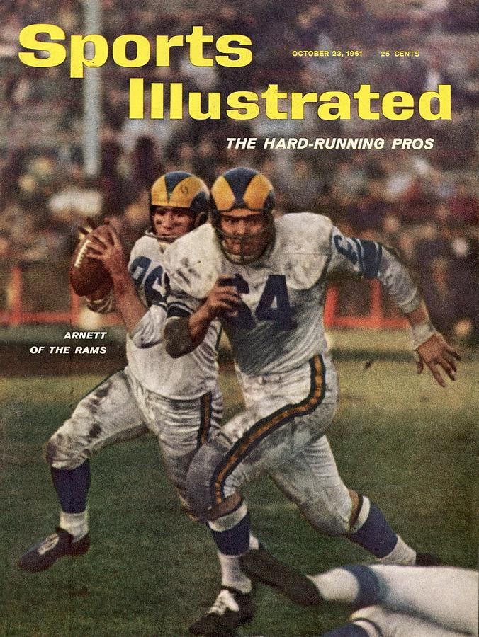 Los Angeles Rams Jon Arnett And Roy Hord Sports Illustrated Cover Photograph by Sports Illustrated