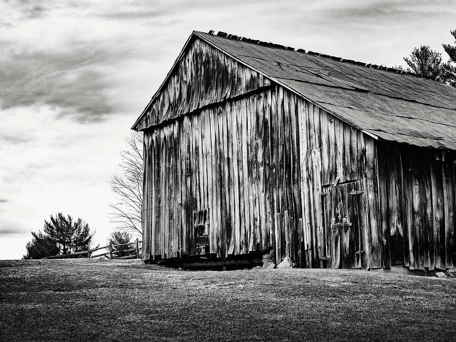 Barn Lost Creek 1 by Marianne Campolongo