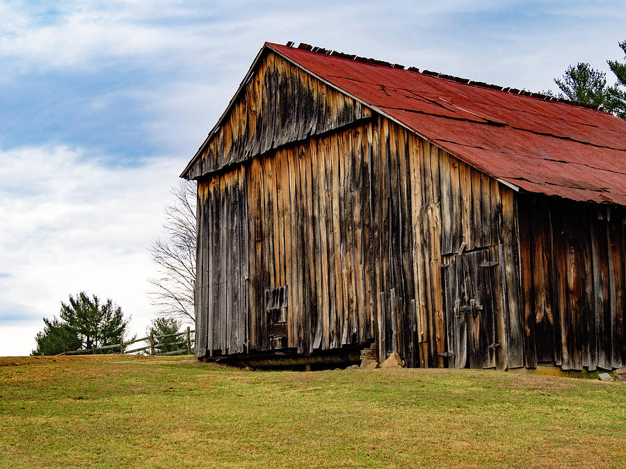 Lost Creek Barn Red Roof I by Marianne Campolongo
