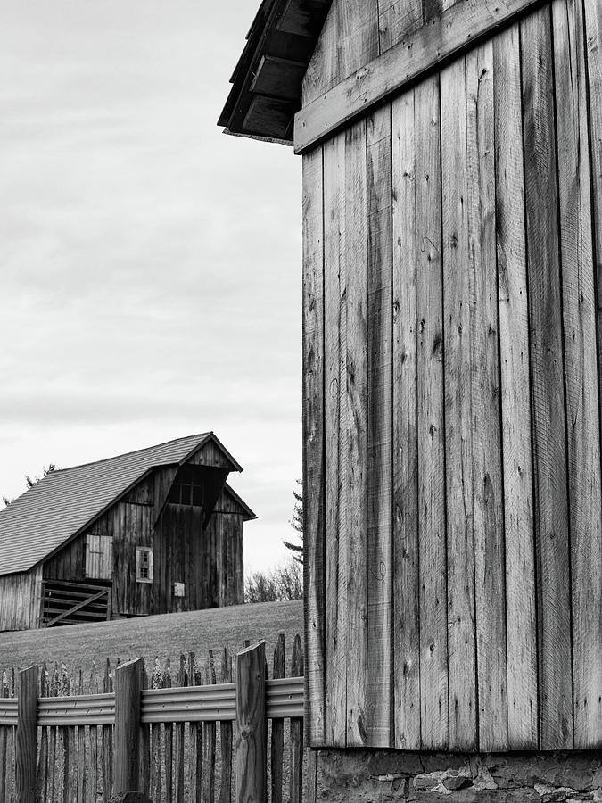 Lost Creek Barns 1 by Marianne Campolongo