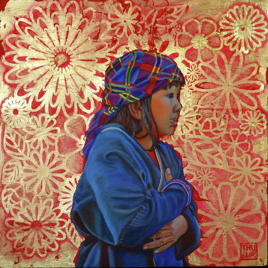 Lost in flowers by Thu Nguyen