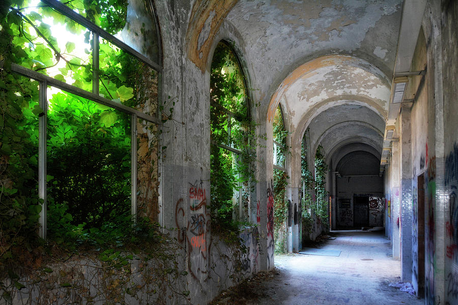 Lost Place In Milan Photograph