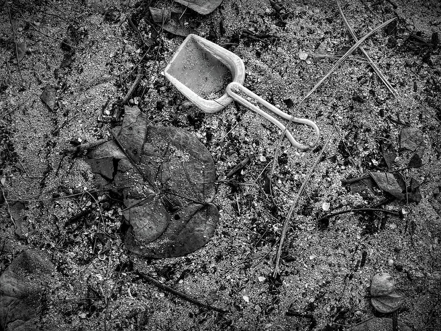 Lost Toy Shovel by Robert Stanhope