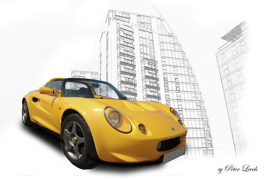 Lotus Elise in Media City by Peter Leech