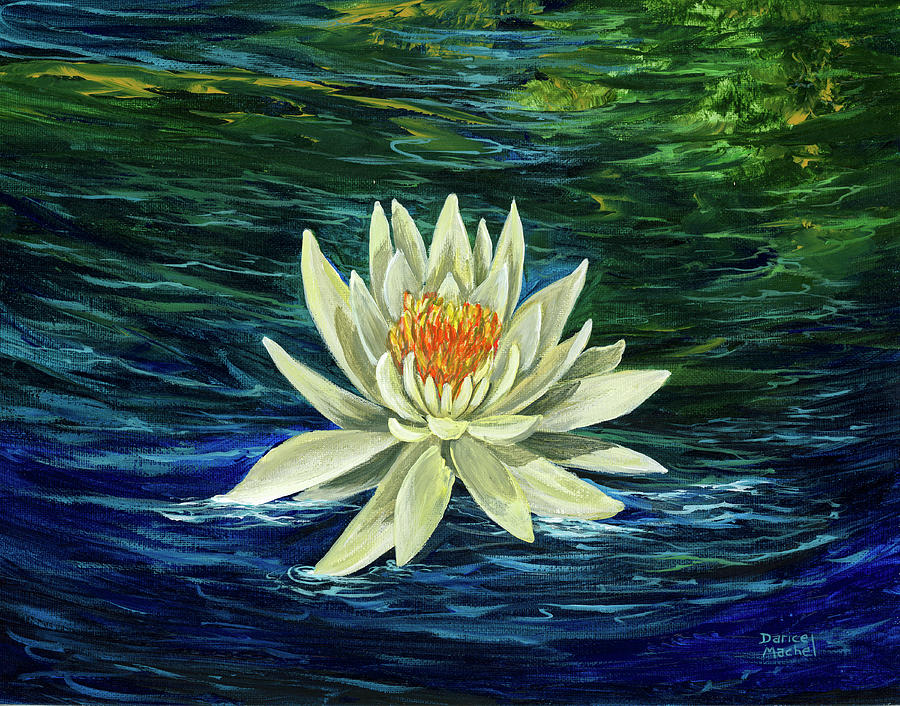 Lotus Flower by Darice Machel McGuire