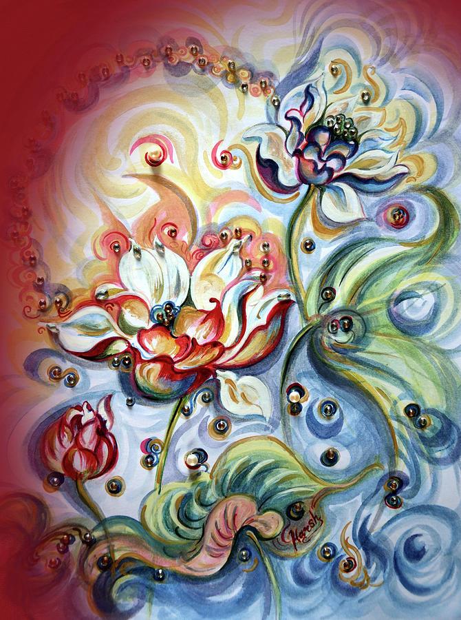 Lotus - healing by Harsh Malik