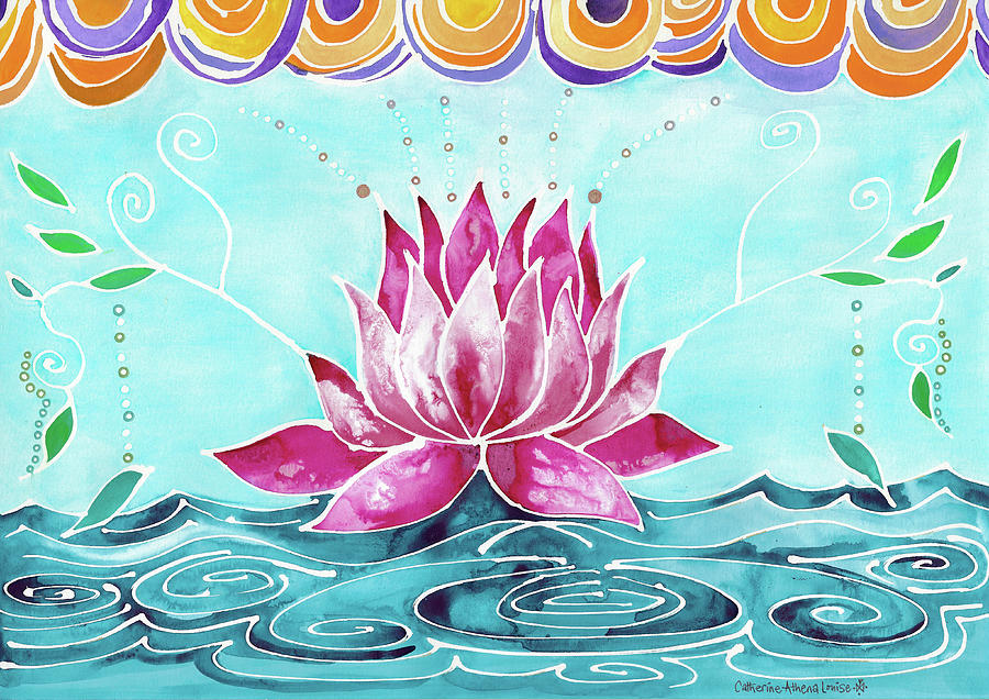 Lotus Lily by Catherine Athena Louise