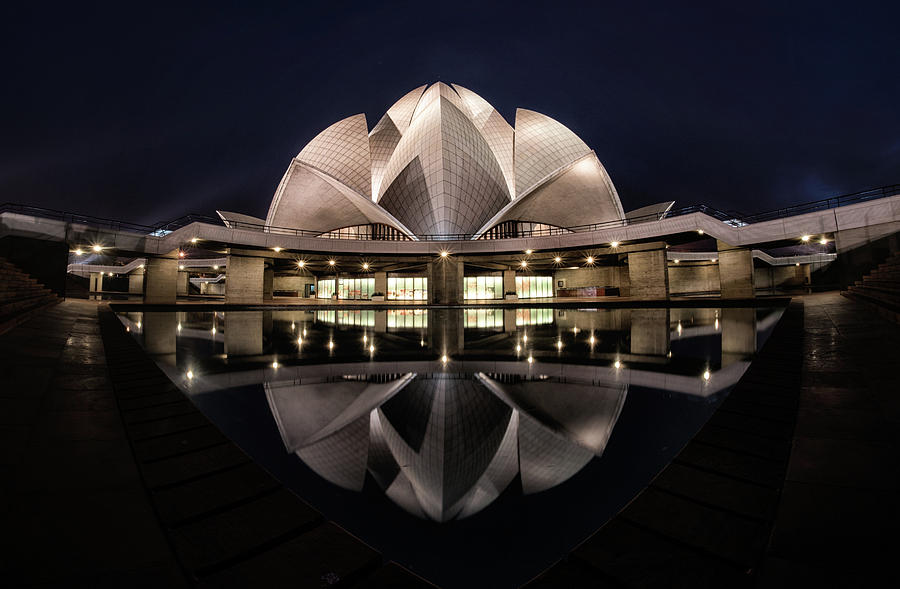 Architecture Photograph - Lotus by Rana Jabeen