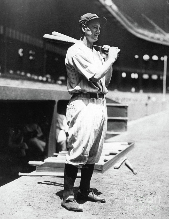 Lou Gehrig Before The Game Photograph by Transcendental Graphics