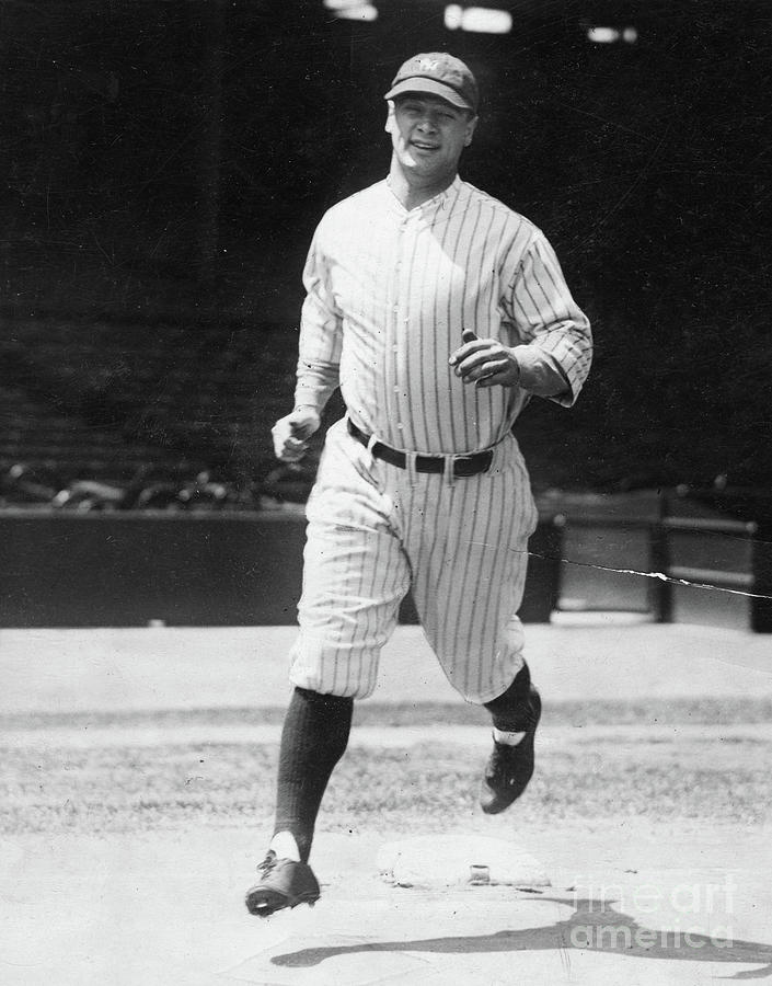 Lou Gehrig Working Out Photograph by Transcendental Graphics