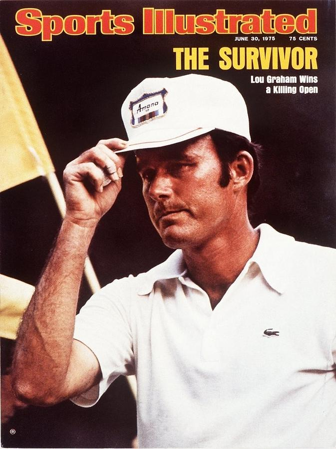 Lou Graham, 1975 Us Open Sports Illustrated Cover Photograph by Sports Illustrated