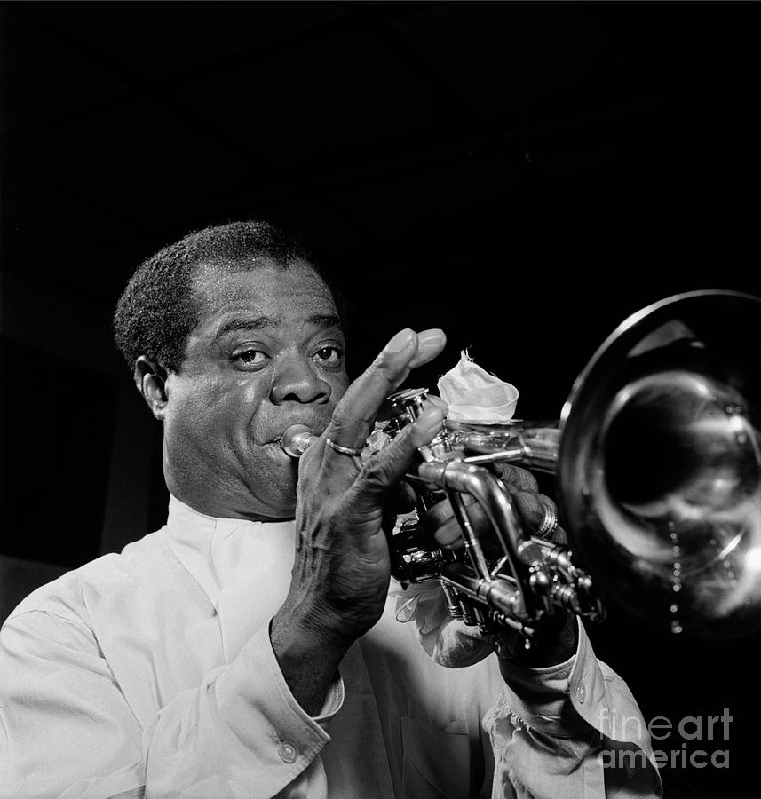 Louis Armstrong - Carnegie Hall, New York - Apr. 1947 by Doc Braham