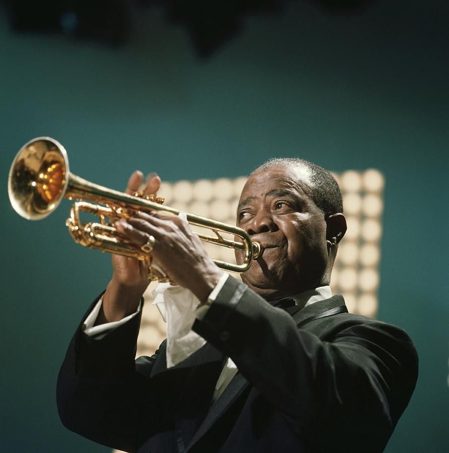 Louis Armstrong Photograph by David Redfern