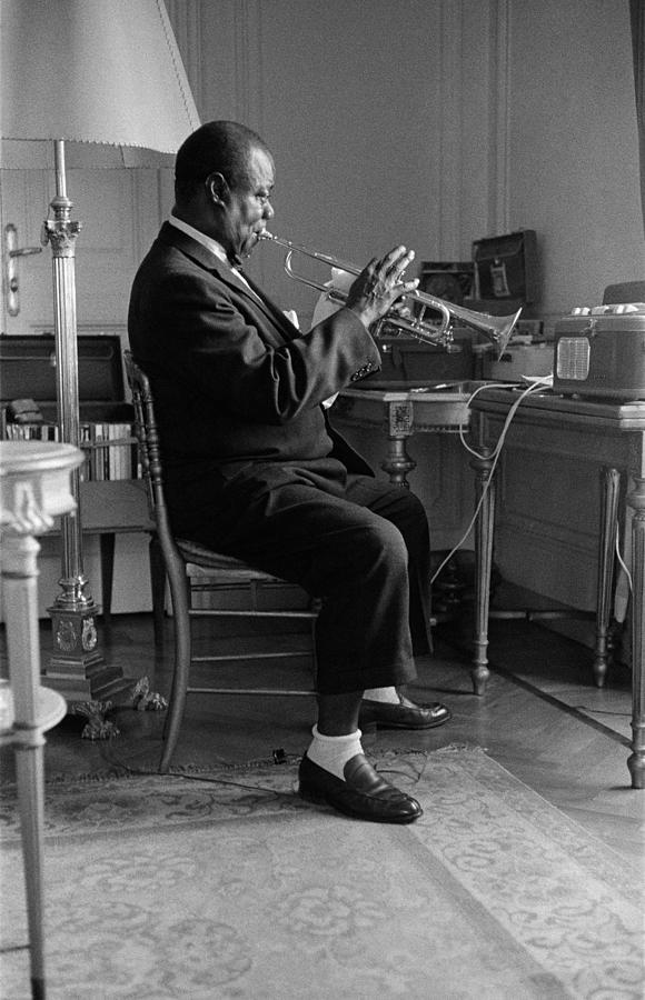 Louis Armstrong In 1959 Photograph by Giancarlo Botti