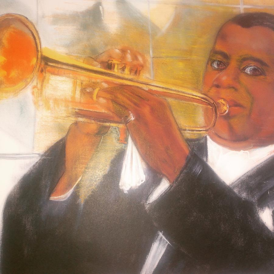 Louis Armstrong. by Kippax Williams