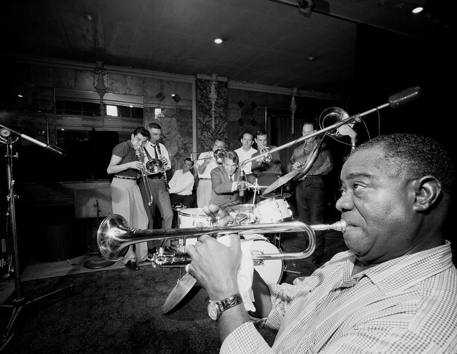 Louis Armstrong R., Who Reshaped Jazz Photograph by New York Daily News Archive