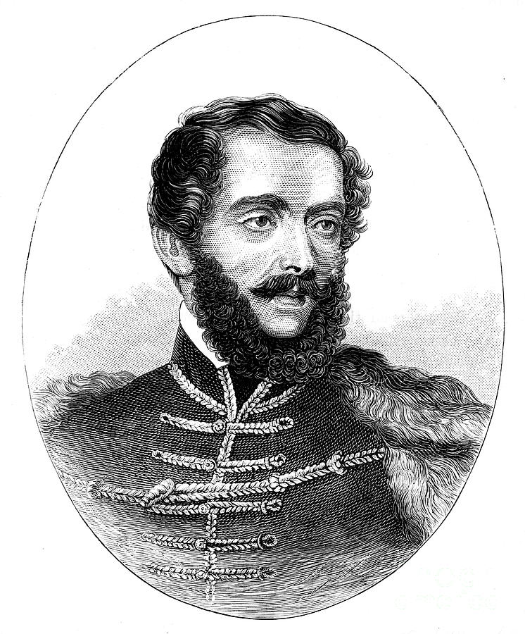 Louis Kossuth, Hungarian Lawyer Drawing by Print Collector