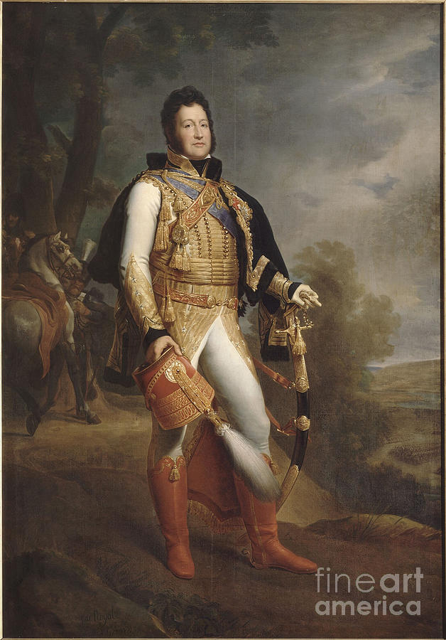 Louis-philippe 1773-1850 Drawing by Heritage Images