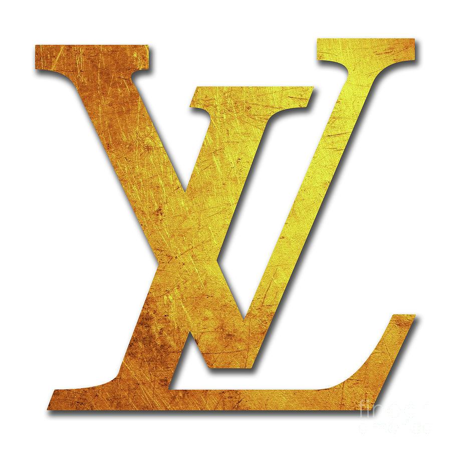 Louis Vuitton Logo - 29 Digital Art by Prar Kulasekara