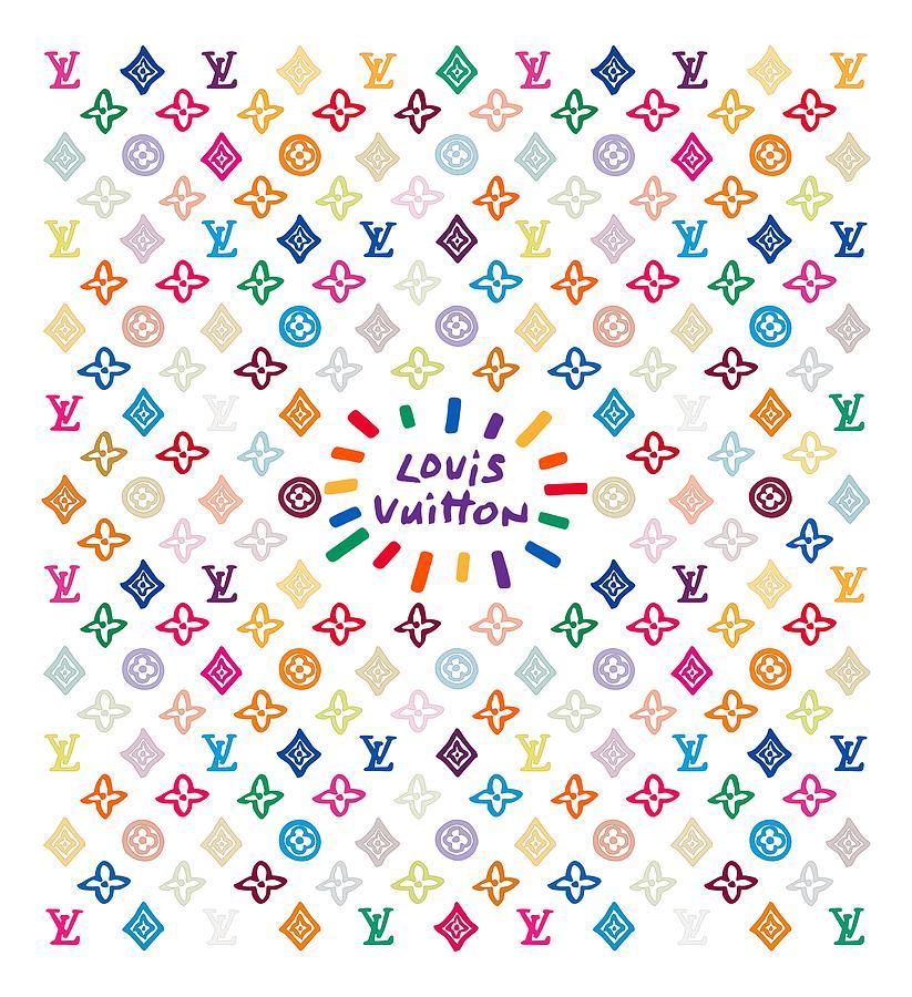 Lv Painting - Louis Vuitton Monogram-12 by Nikita