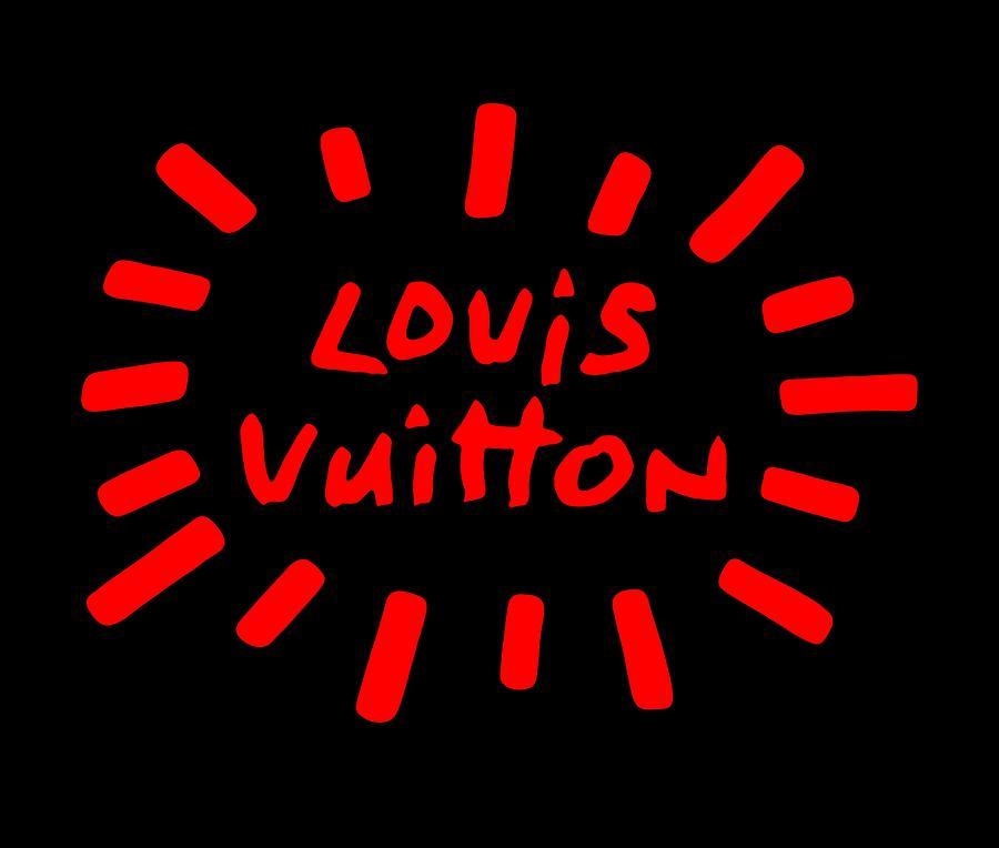 Lv Painting - Louis Vuitton Radiant-3 by Nikita