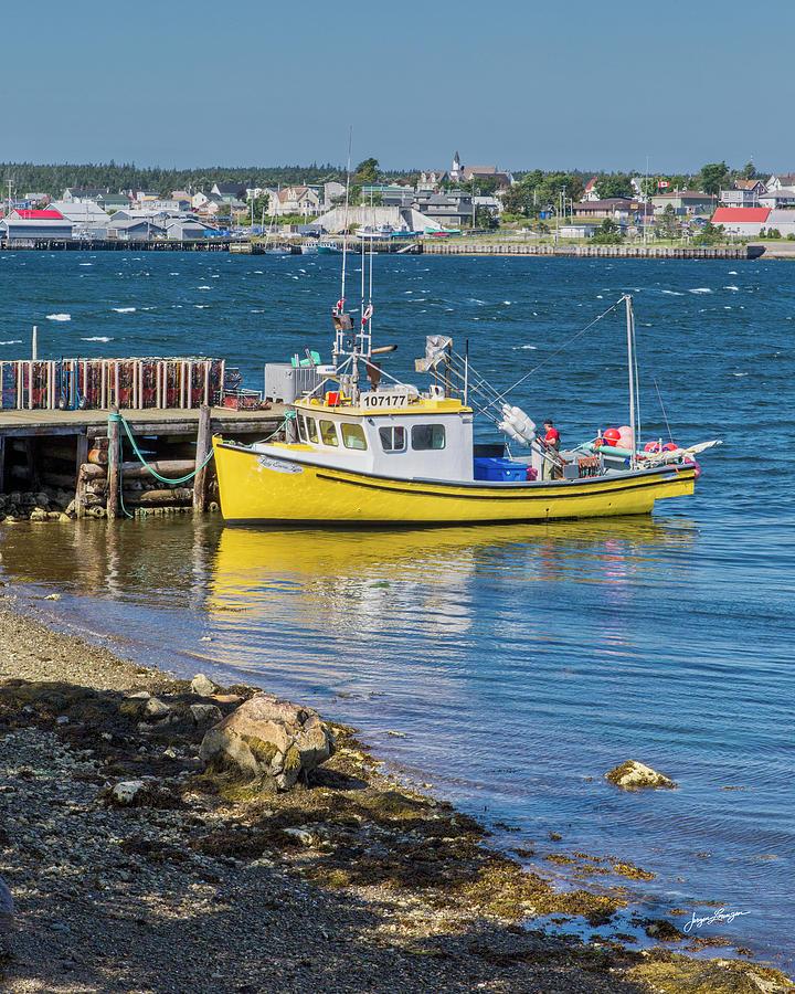 Louisbourg Harbor by Jurgen Lorenzen