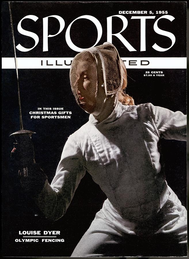 Louise Dyer, Fencing Sports Illustrated Cover Photograph by Sports Illustrated
